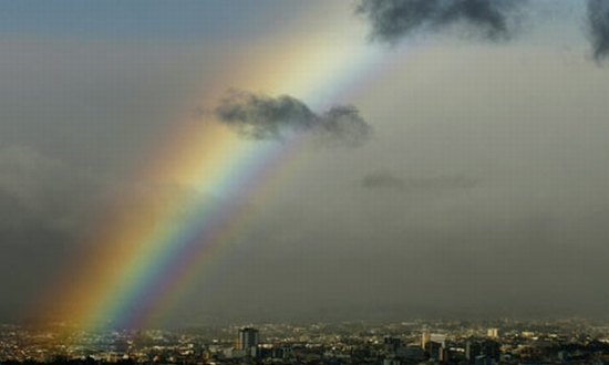 a rainbow over san jose i 001