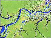 a sattelite view of amazon 5303