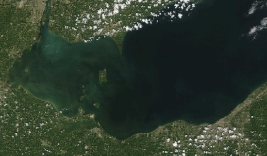 algal bloom lake erie TnAj3 19111