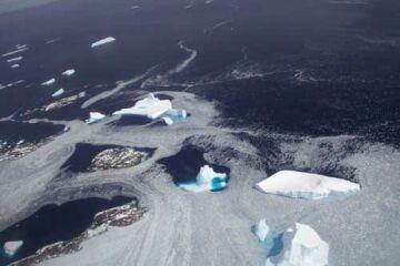 antarctica losing ice