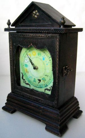 antique weather clock 9