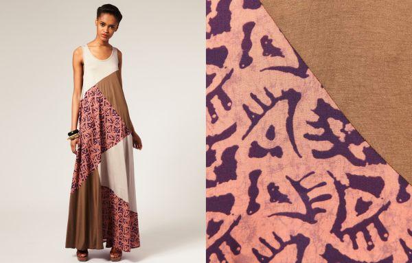 ASOS Africa's full maxi dress