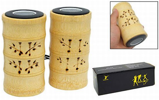 bamboo speakers