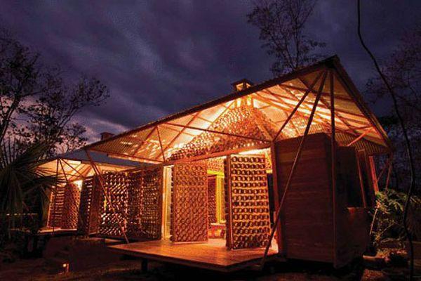 Bamboo house by Benjamin Garcia Saxe