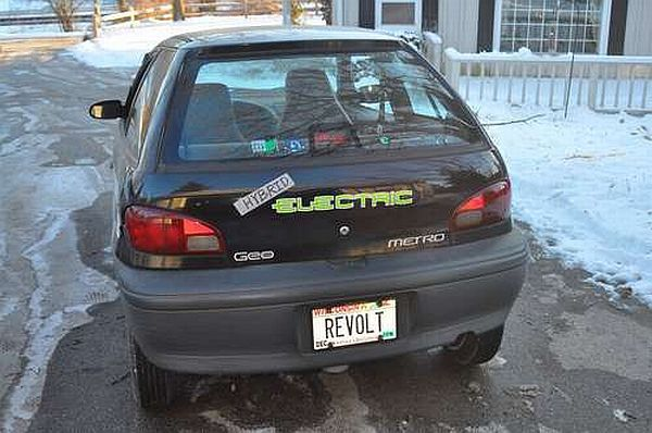 Pin homemade electric car maker builds in his garage on for Garage ben autos