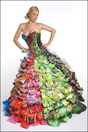 Bottles and Cans Dress