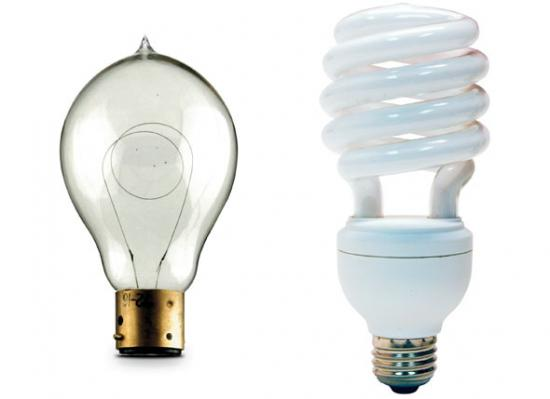 bulb old new