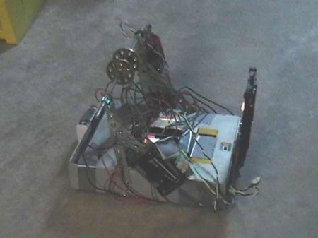 cd rom robot