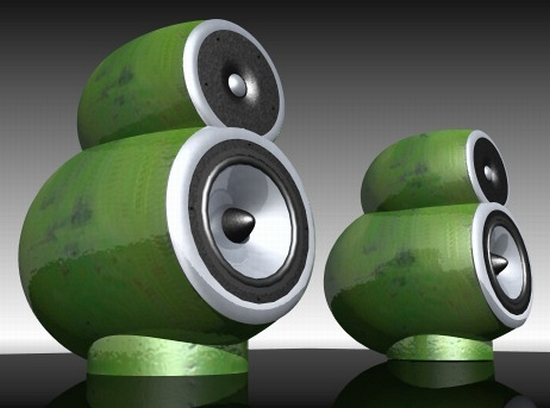 ceramic calabash speakers