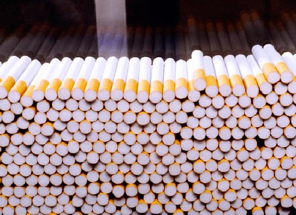 Cigarette stubs fabric