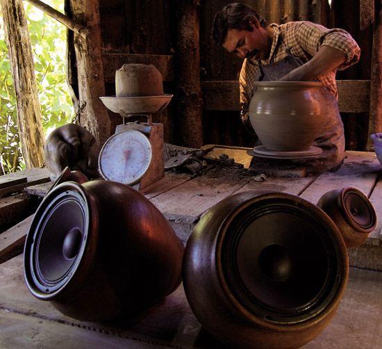 clay speakers