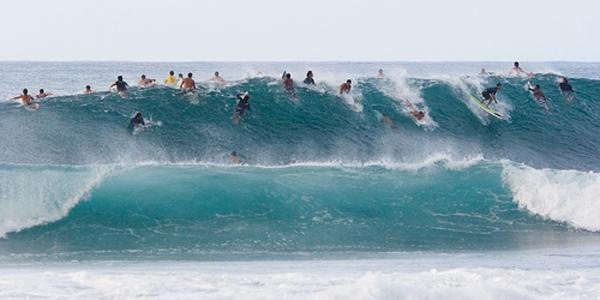 Cyclops surfing spot
