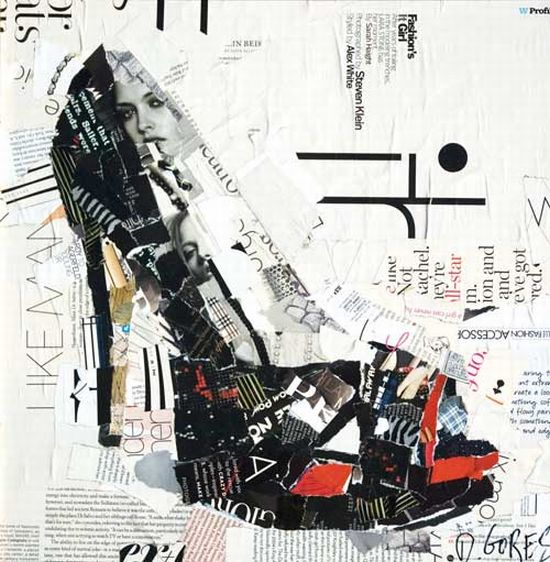 derrek gores recycled magazines collage art 3