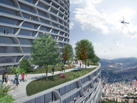 desitecture vertical city venezuela 2