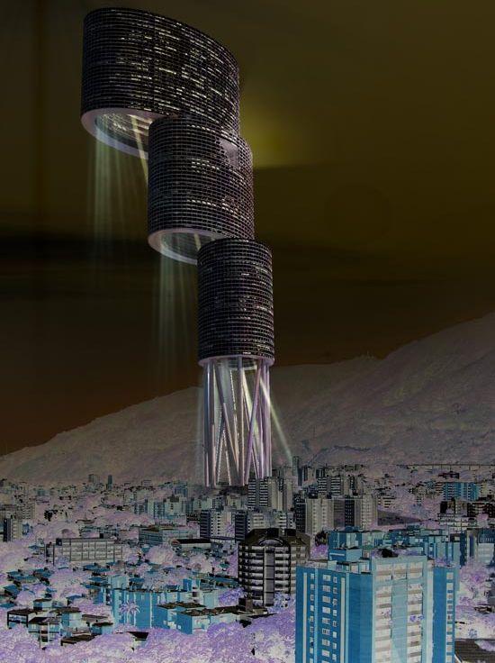 desitecture vertical city venezuela 7