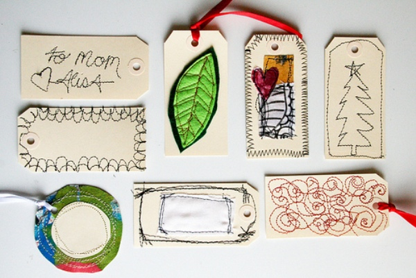 Eco friendly gift tags