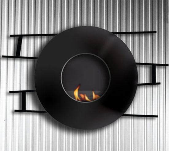 Evo ethanol fireplace offers a clean heating alternative for Denatured alcohol for fireplace