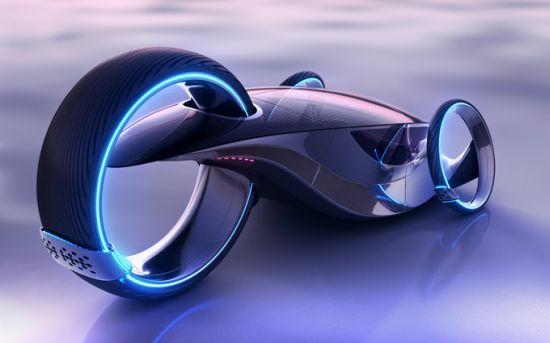Evo5 Futuristic Sports Car Flaunts Roof Mounted Solar