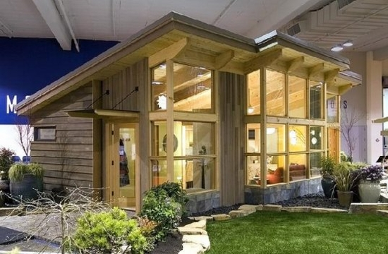 Fabcab brings sustainable prefabs to seattle home show for Prefabricated homes seattle