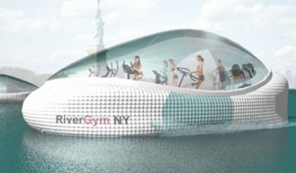 Floating-gym: Commuting to get robust personality