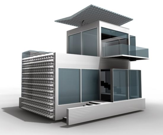 advanced green technologies make future living house