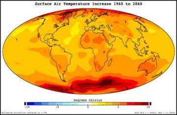 the biggest environmental problem caused by global warming Global warming is on a constant rise on earth's surface air temperature, which is steadily going up from the second half of 20th century.