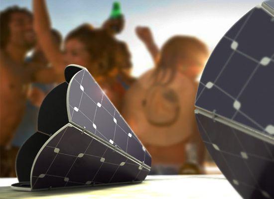 gramo solar powered speaker