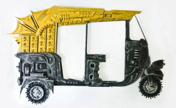 Haribaabu Naatesam e waste art
