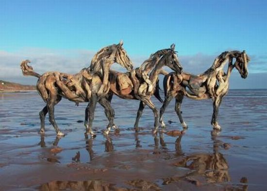 heather jansch s driftwood sculptures 7