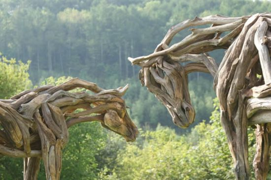 heather jansch s driftwood sculptures 8