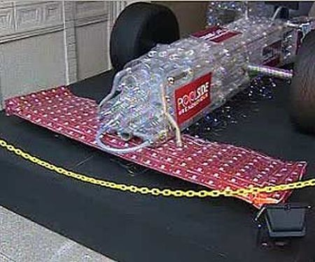 how to make a model car from recycled materials