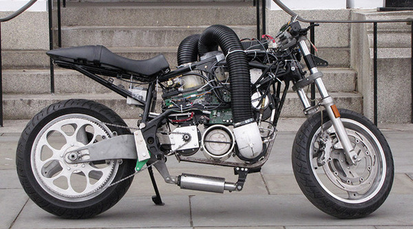 Hydrogen-Powered Motorcycle
