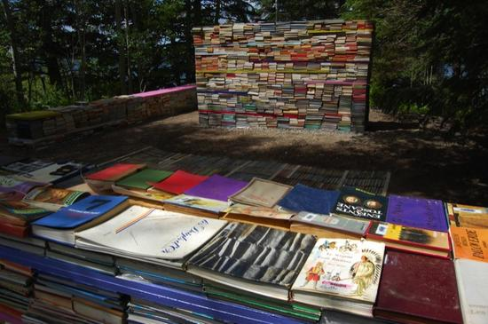 jardin de la connaissance book installation 6