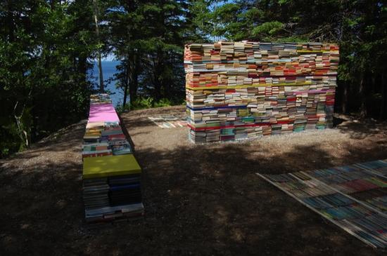 jardin de la connaissance book installation 7
