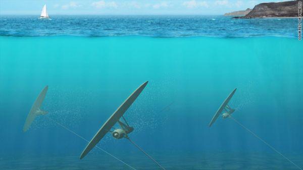 Kite Turbine Generates Electricity