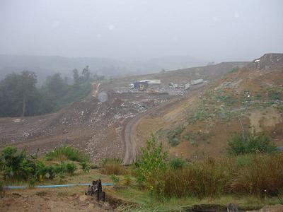 landfill site in uk