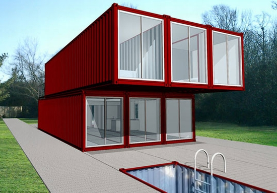 lot ek container home kit
