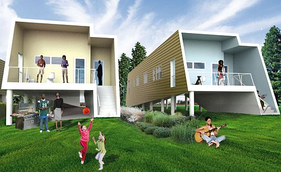 Graft lab makes it right in proposing duplex design for for Make it right foundation