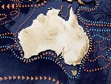 ocean currents in the australian region including