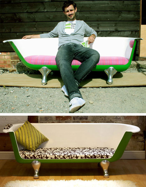 Old Bathtub Couch