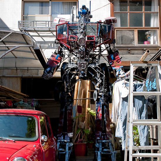 optimus prime replica 1