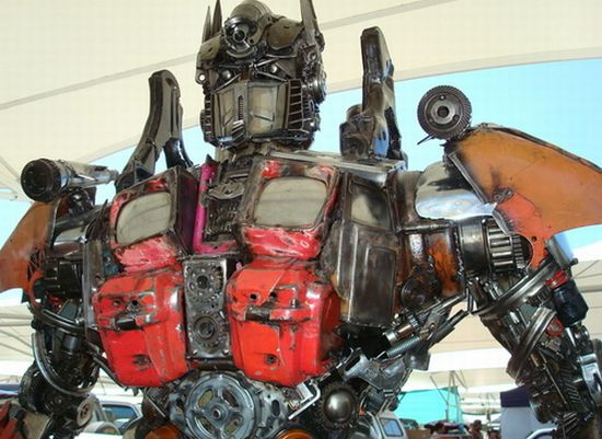 optimus prime replica 2