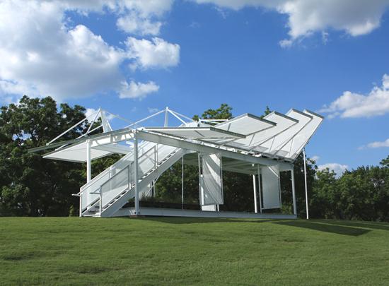 mobile off grid prefab education pavilion folds up for. Black Bedroom Furniture Sets. Home Design Ideas