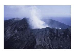 poisonous volcanic gas