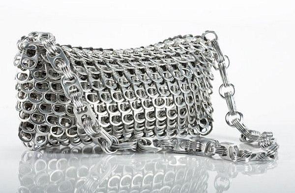Pop Top Chain bag by 'Escama studio'