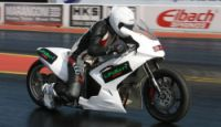 pro drag bike photo
