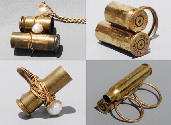 how to clean bullet casings for jewelry