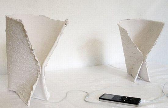 recycled paper ceramic speaker