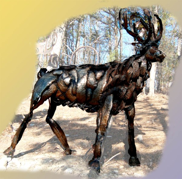 Recycled Art out of waste