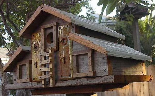 10 Diy Recycled Birdhouses You Can Build To Show You Care